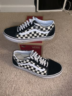 Vans checkerboard for Sale in Durham, NC