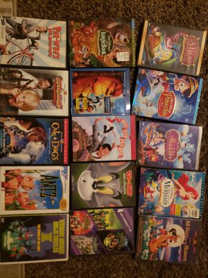 Disney and kids movies all for $15 for Sale in Long Beach, CA