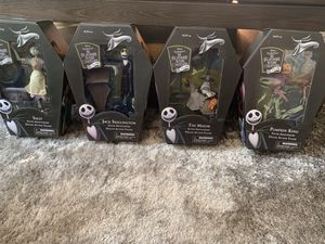 Nightmare Before Christmas 25 Years Collectors Figures for Sale in Goodlettsville, TN