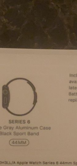 Apple Series 6 Watch 44mm for Sale in Colorado Springs,  CO