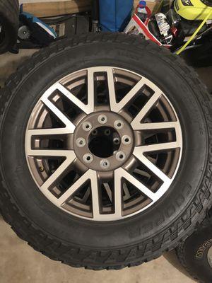 Tire & rim set 275/20R60 for Sale in San Antonio, TX