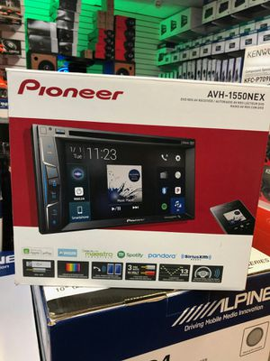 Pioneer avh-1550nex on sale today message us for the lowest prices in la for Sale in South Gate, CA
