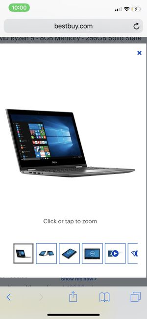 Dell Inspiron 13 7000 series. 2-in-1 Grey for Sale in Aurora, CO