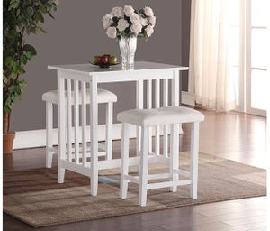 Used, Brand New 3-Piece Counter Height Dining Set for Sale for sale  Gardena, CA