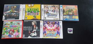 3DS games. Perfect condition w/case and manuals for Sale in undefined