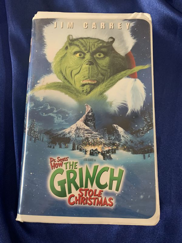 VHS tape How the Grinch Stole Christmas!