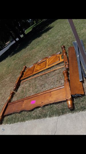 King size bed frame for Sale in San Angelo, TX