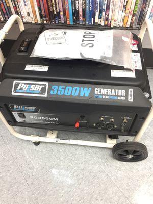 Pulsar 3500W Generator for Sale in Portland, OR