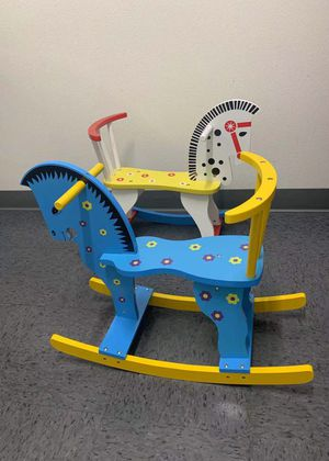 NEW IN BOX $20 each Wooden Rocking Horse Ride On Kids Baby Toddler Toy age 2 and Up Assembly Required for Sale in Los Angeles, CA