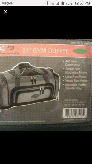 Champion Duffle Bag for Sale in San Diego, CA