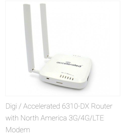 Accelerated LTE router