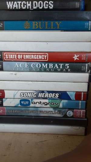 28 PS2 GAMES BULLY,GTA,NIGHTCLUB 3 AND OTHER MORE for Sale in Los Angeles, CA