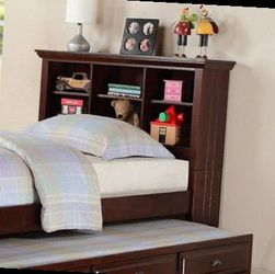 CLOSEOUTS LIQUIDATION SALE BRAND NEW TWIN SIZE BED FRAME WITH TRUNDLE AND DRAWERS ADD MATTRESS ALL NEW FURNITURE PDX9220 for Sale in Diamond Bar,  CA