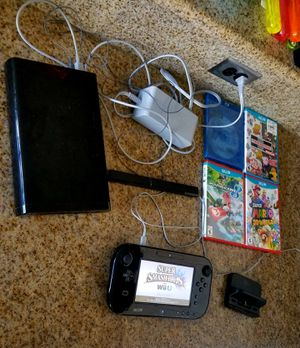 Black 32GB Nintendo Wii U Bundle Deal for Sale in Ontario, CA