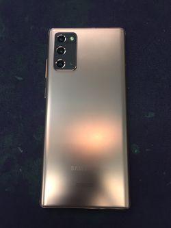 Samsung Note 20 5G Unlocked Excellent Condition for Sale in Glendora,  CA
