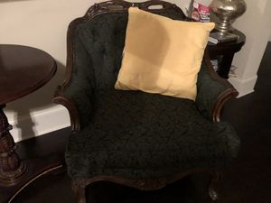 2 Antique chairs and table. $175.00 for Sale in Cumming, GA