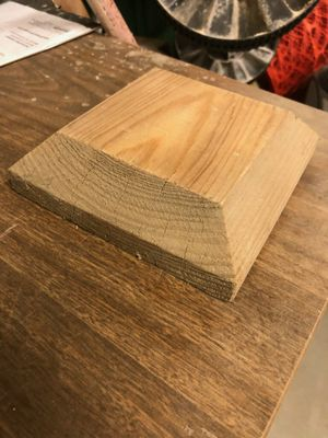 2 x 6 cedar post cap… I have about 70. $.50 ea. for Sale in Pasco, WA