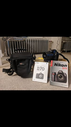 Nikon d70 bundle! for Sale in Seattle, WA