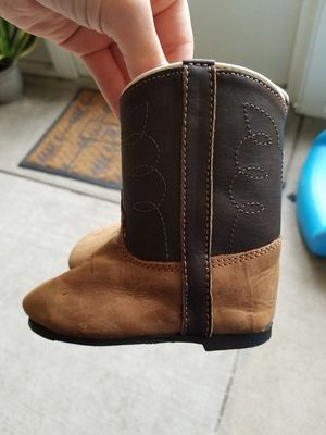 Size 3 cow girl/boy boots for Sale in Orlando, FL