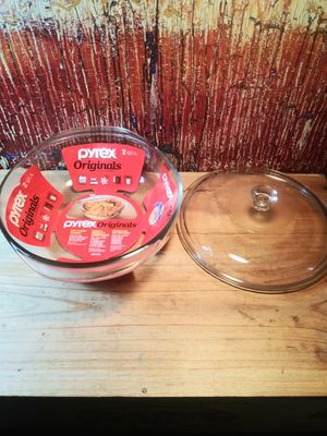 """Pyrex New 9"""" inch Glass Oven Cookware for Sale in American Canyon, CA"""