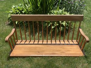 Nicholas & Stone solid maple /birch porch swing for Sale in Palos Hills, IL