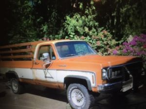 1973 Chevy 3/4 ton 4X4 farm truck for Sale in Snohomish, WA