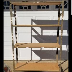 Heavy duty Metal shelves for Sale in Wildomar, CA