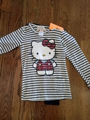 Hello kitty top with black leggings for Sale in Smyrna, TN