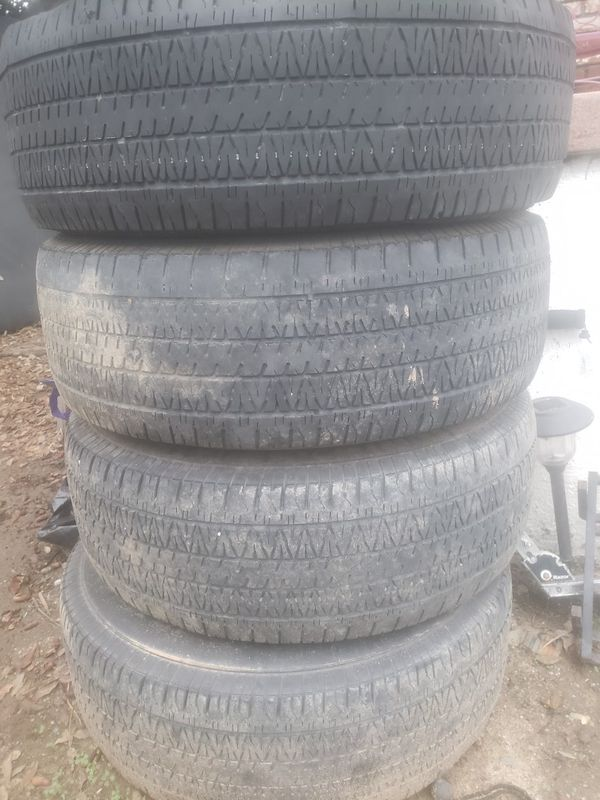 Weels and tires