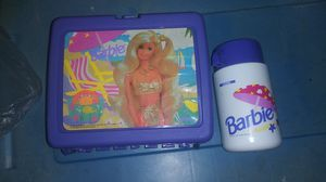 Old Skool Barbie Lunch Box with Thermos for Sale in Oklahoma City, OK