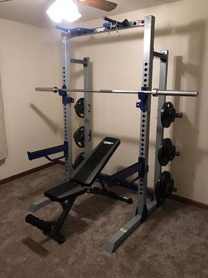 Fitness Gear Pro Half Rack for Sale in Yorkville, IL