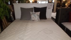 Brand new white panel queen bed frame only for Sale in San Diego, CA