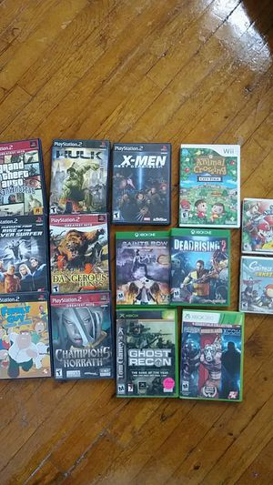 Video game prices in description for Sale in Atchison, KS