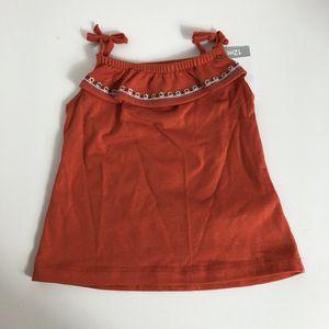 Girls size 12m Carter's Orange Shirt NWT for Sale in Newark, NJ