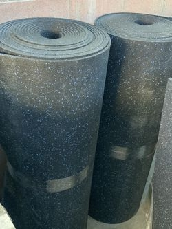 Gym Mats Rubber Commercial Grade 3/8 Thickness At $2 The Square Foot for Sale in Lynwood,  CA