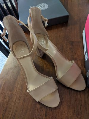 Beige heels. Vince Camuto size 8.5. for Sale in Bothell, WA