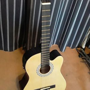 Brand new Classical nylon String Acoustic Electric Cutaway Guitar for Sale in Mt. Juliet, TN