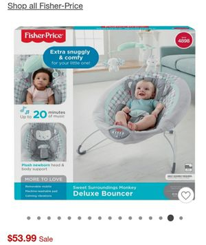 Brand New in Box! Bouncer & newborn diapers for Sale in Bell Gardens, CA