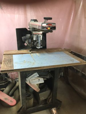Craftsman Radial Arm Saw for Sale in Chippewa Falls, WI