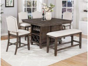 Brand New 5pc. Counter Height Dining Table Set for Sale in Austin, TX