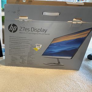 HP display 27 Inches for Sale in Shoreline, WA