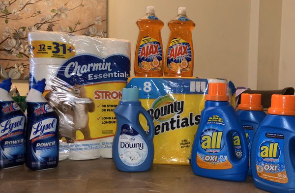 Charmin, Bounty Plus In Household Bundle