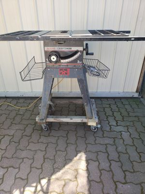 Craftsman table saw for Sale in Stockton, CA