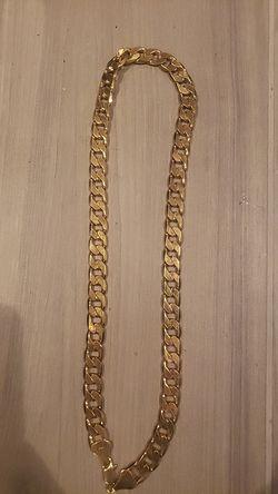 14kG gold Cuban link chain for Sale in Calais,  VT