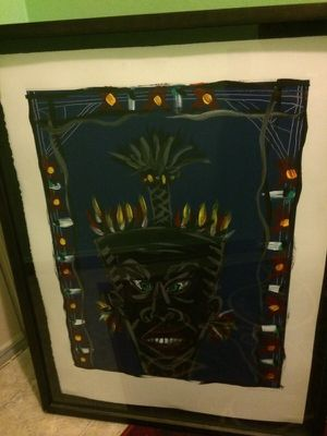 Juan Alonso.. carnaval mask 1990 for Sale in Seattle, WA