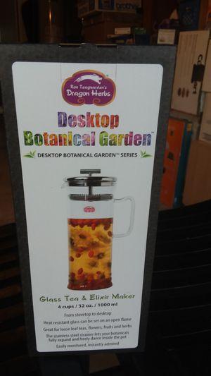 Desktop Botanical Garden glass Tea & Elixir Maket for Sale in Huntington Beach, CA