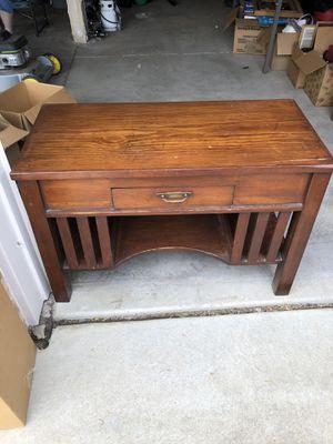 Solid Wood Antique Desk for Sale in Longmont, CO