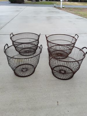 Old Clam or Oyster Baskets for Sale in Millsboro, DE