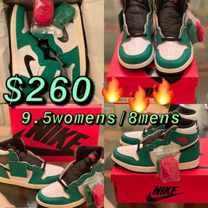 """✅Air Jordan 1 High OG WMNS """"Lucky Green"""" with proof of receipt 🧾 💯Authentic 👨🍳🔥🔥🔥 All sales are final! 100% Authentic for Sale in Virginia Beach, VA"""