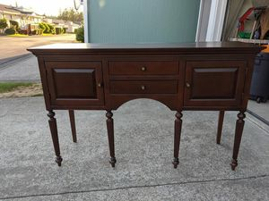 Cherry wood buffet, great condition! for Sale in Maple Valley, WA
